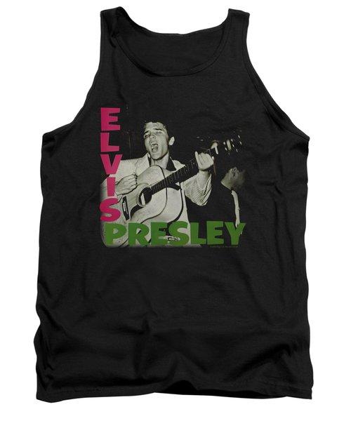 Elvis - Elvis Presley Album Tank Top by Brand A