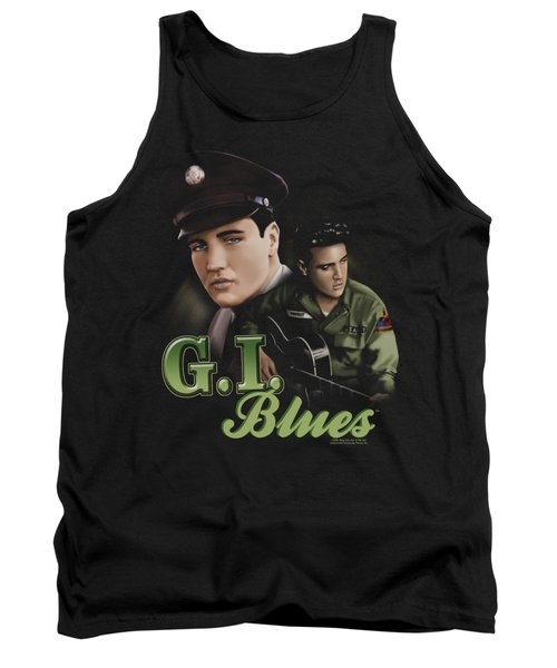 Elvis - G I Blues Tank Top