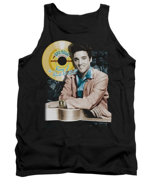 Elvis - Gold Record Tank Top