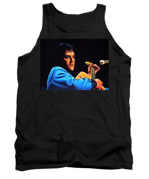 Elvis Presley 2 Painting Tank Top