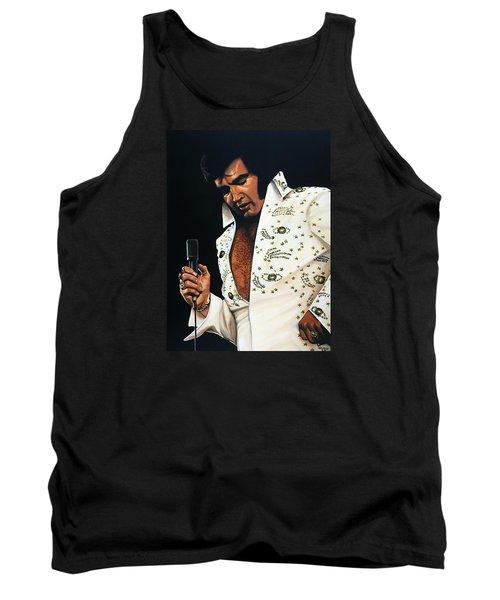 Elvis Presley Painting Tank Top