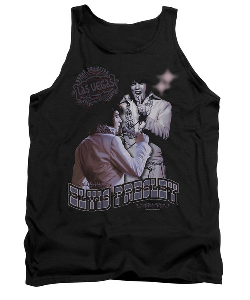 Elvis - Violet Vegas Tank Top by Brand A