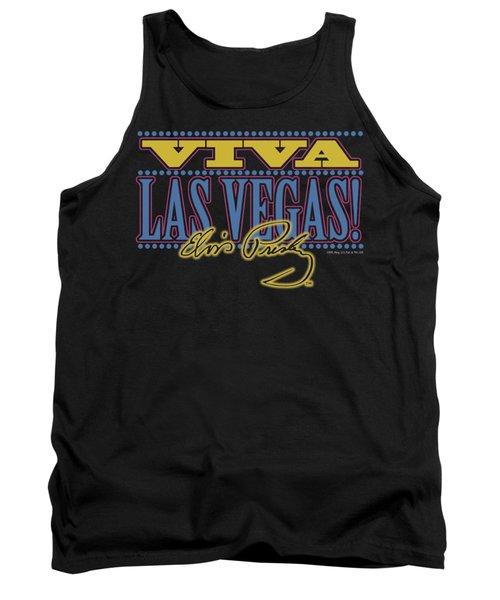 Elvis - Viva Las Vegas Tank Top