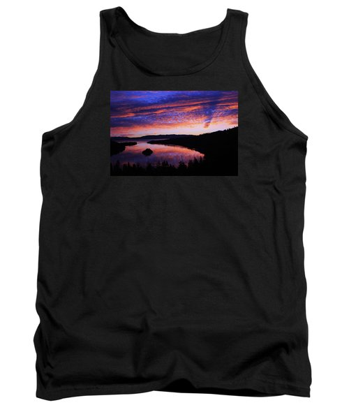 Tank Top featuring the photograph Emerald Bay Awakens by Sean Sarsfield