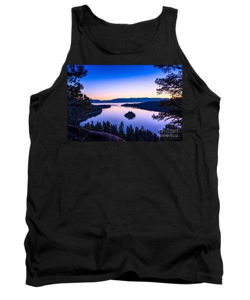 Emerald Bay Sunrise Tank Top