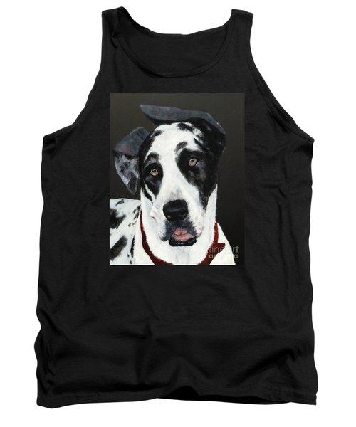 Tank Top featuring the painting Emma by Mary Lynne Powers