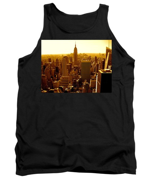 Manhattan And Empire State Building Tank Top