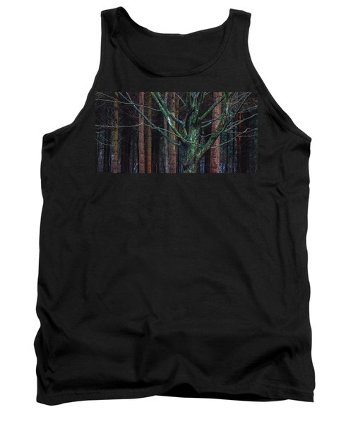 Tank Top featuring the photograph Enchanted Forest by Davorin Mance