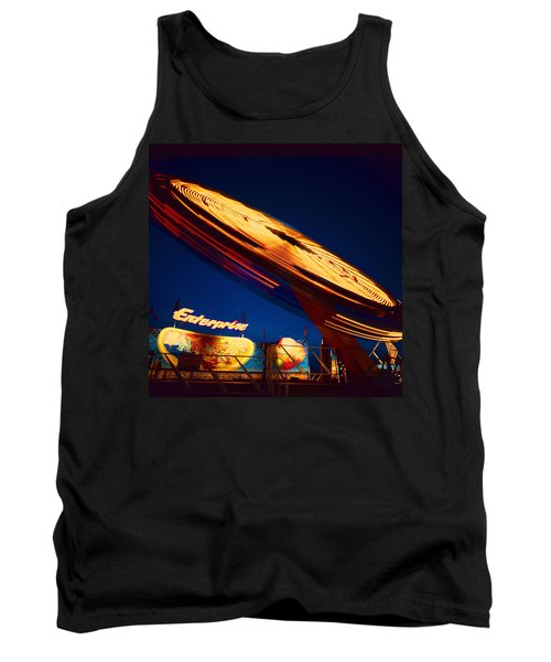 Enterprise Tank Top by Don Spenner