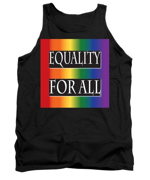 Equality Rainbow Tank Top by Jamie Lynn