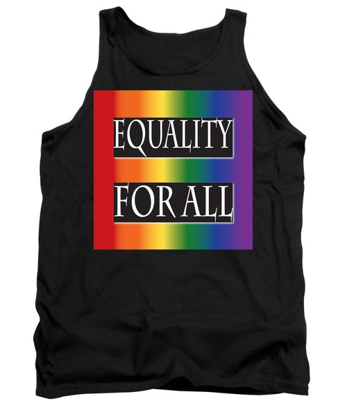 Equality Rainbow Tank Top