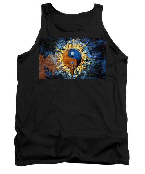 Equilibria Tank Top by Kenneth Armand Johnson