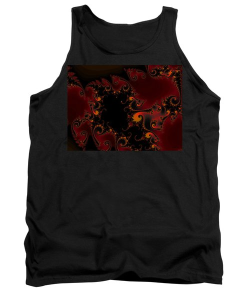 Tank Top featuring the digital art Escape Hatch by Elizabeth McTaggart