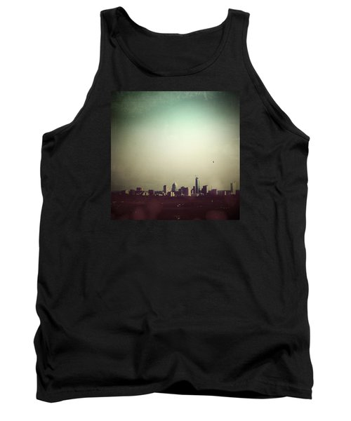 Escaping The City Tank Top by Trish Mistric