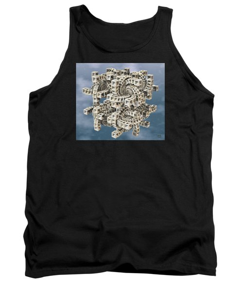Escher's Construct Tank Top by Manny Lorenzo