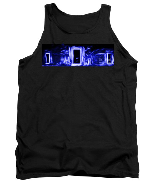 Ethereal Doorways Blue Tank Top