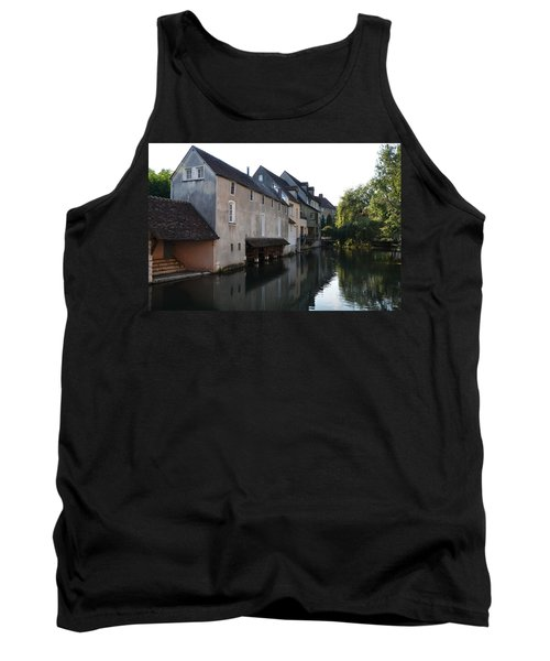Eure River And Old Fulling Mills In Chartres Tank Top