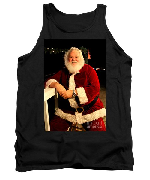 Even Santa Needs A Break Tank Top