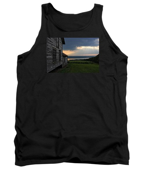 Evening Is Falling Tank Top