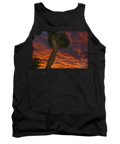 Evening Red Event Tank Top by Angela J Wright