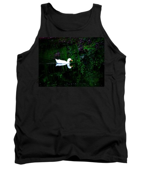 Tank Top featuring the photograph Evening Swim by Greg Simmons