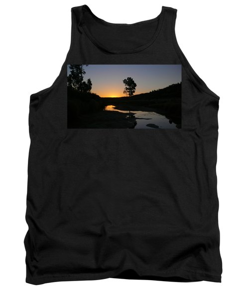 Tank Top featuring the photograph Evening Wonderland by Evelyn Tambour