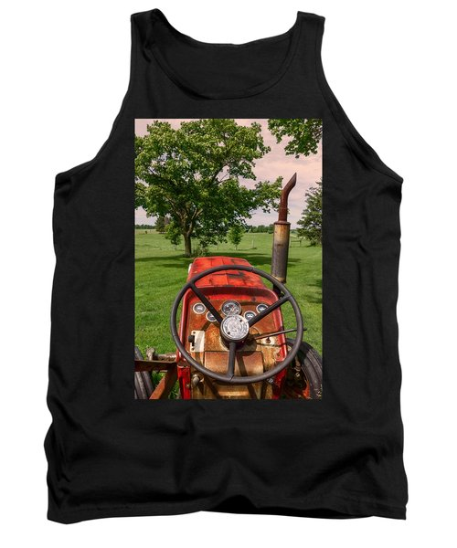 Ever Drive A Tractor Tank Top
