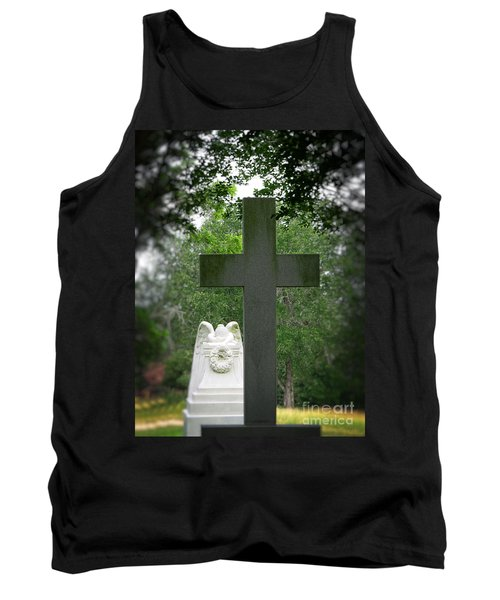 Tank Top featuring the painting Every Knee Shall Bow by Ella Kaye Dickey