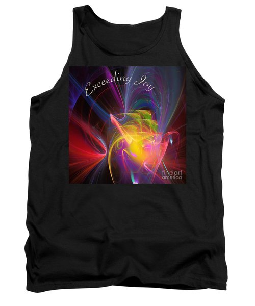 Exceeding Joy Tank Top by Margie Chapman
