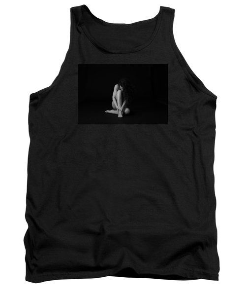 Exhausted  Tank Top by Mez