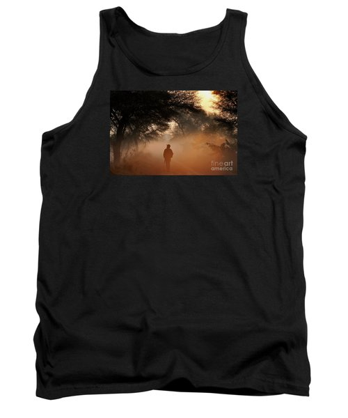 Explorer The Nature Tank Top by Manjot Singh Sachdeva