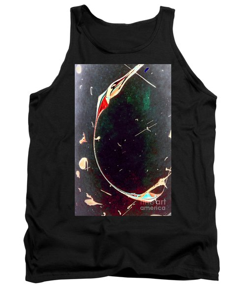Tank Top featuring the painting Exploring New Depths by Jacqueline McReynolds