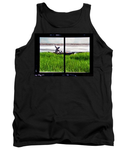 Fisherman Window Framed Tank Top