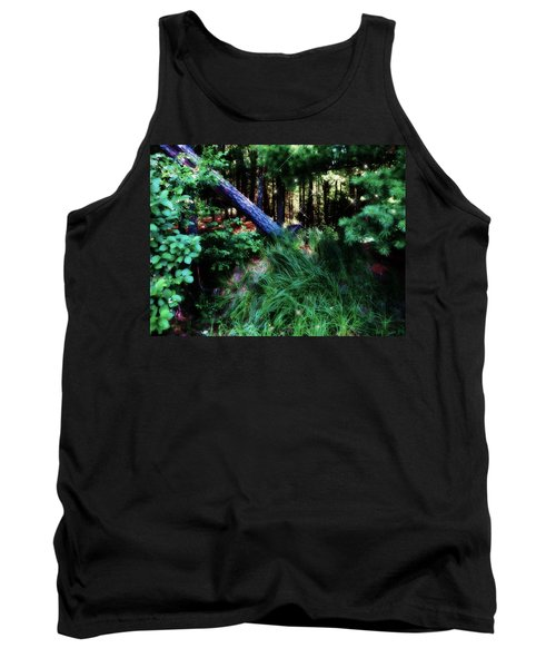 Tank Top featuring the photograph Fairy Forest by Jamie Lynn