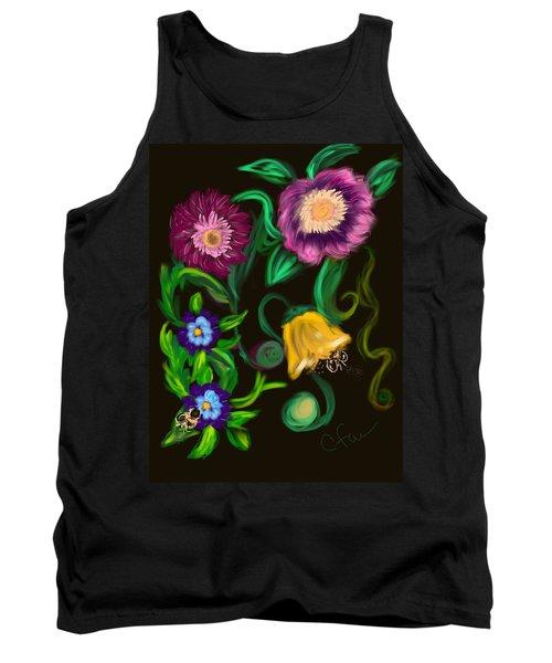 Fairy Tale Flowers Tank Top