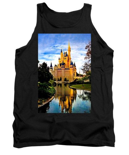 Fairy Tale Twilight Tank Top by Greg Fortier