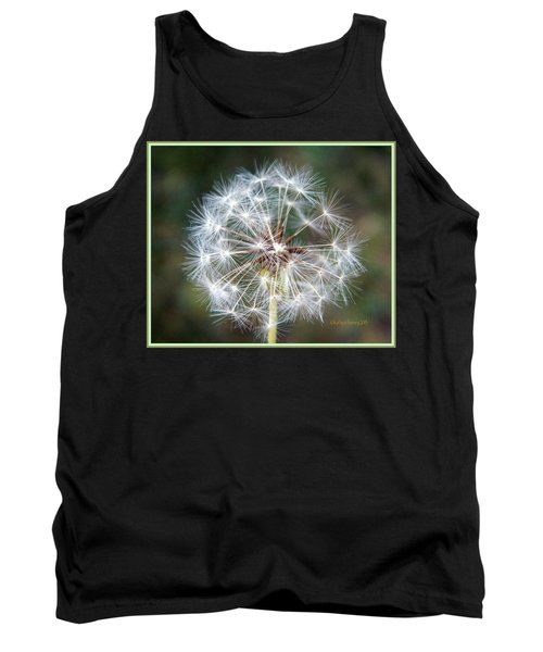 Tank Top featuring the photograph Fairy Umbrellas by Kathy Barney