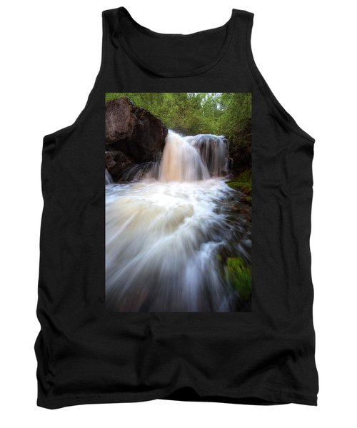 Tank Top featuring the photograph Fall And Splash by David Andersen