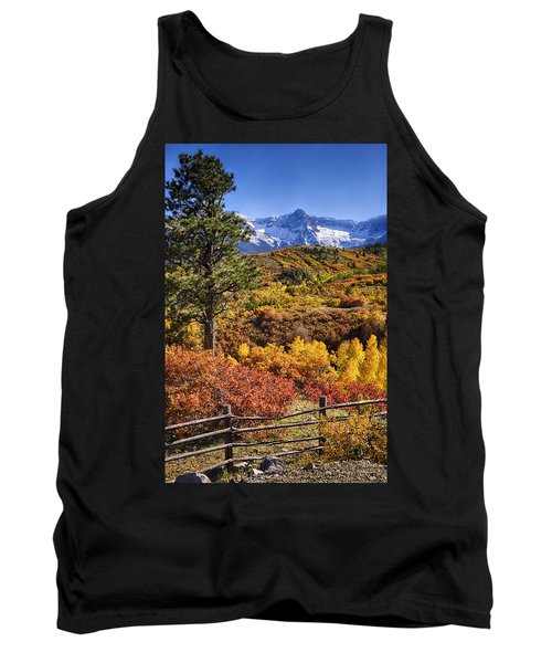 Fall At Dallas Divide Tank Top by Priscilla Burgers