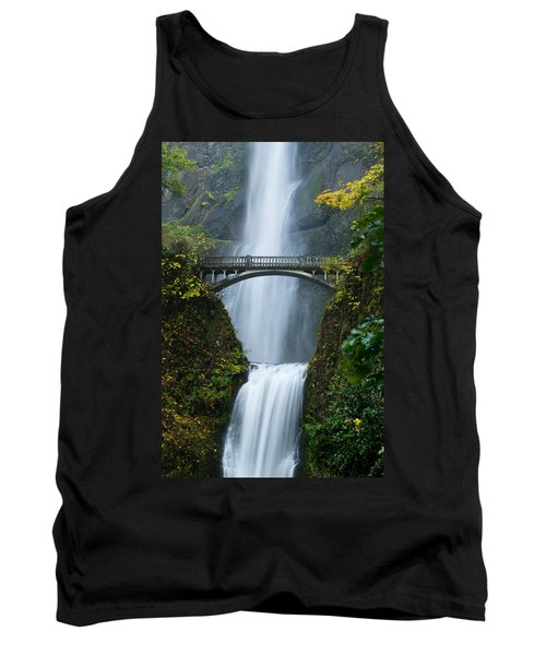 Fall At Multnomah Falls Tank Top