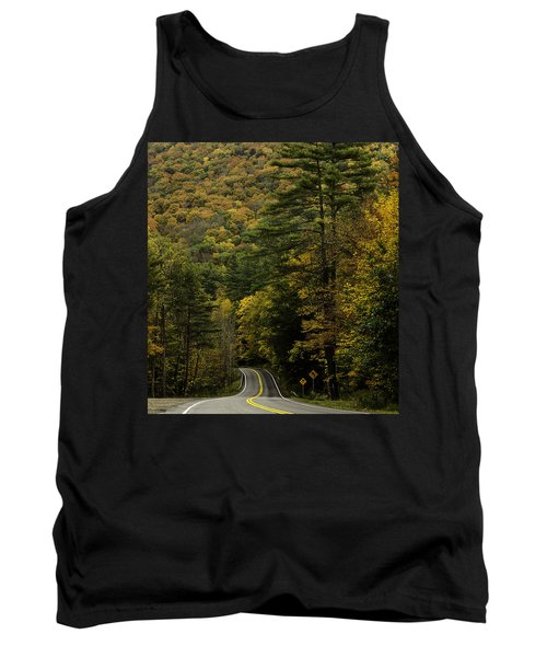 Fall Colors On Mohawk Trail Near Charlemont Tank Top