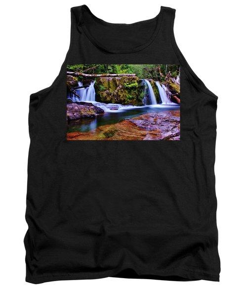 Fall Creek Oregon 3 Tank Top