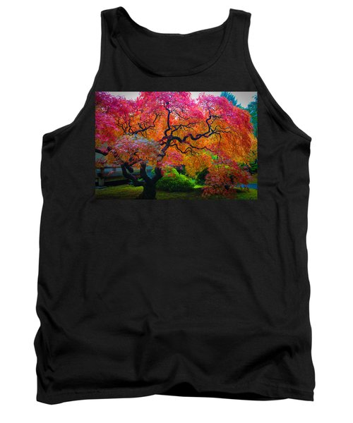 Fall Crowning Glory  Tank Top by Patricia Babbitt