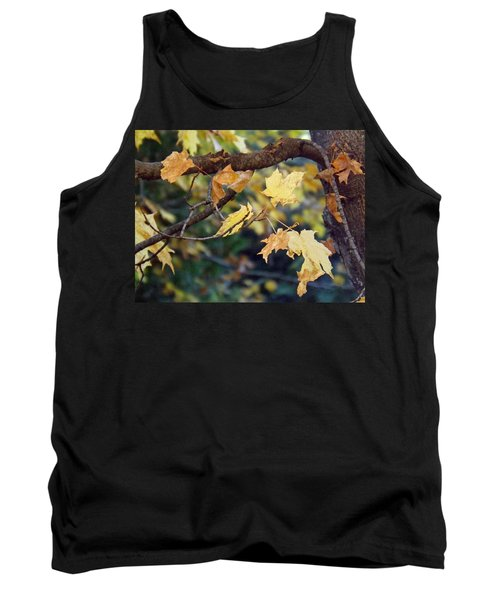 Fall Foilage Tank Top by Brenda Brown