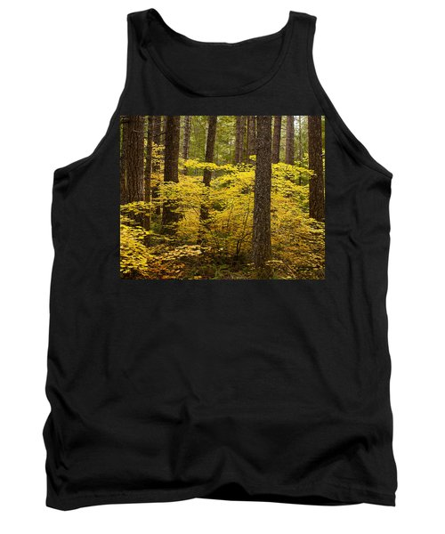 Fall Foliage Tank Top by Belinda Greb