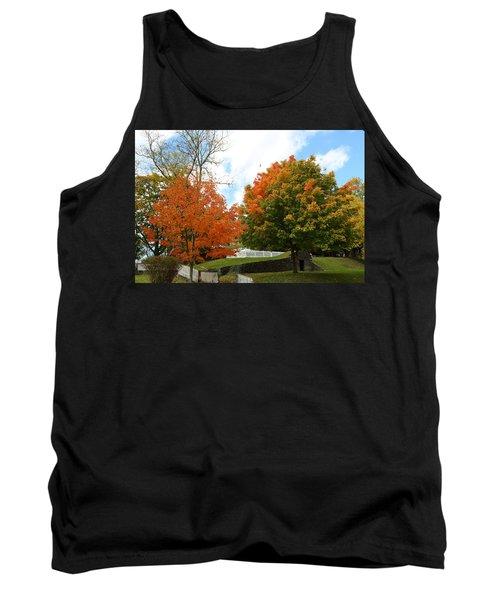 Fall Foliage Colors 09 Tank Top