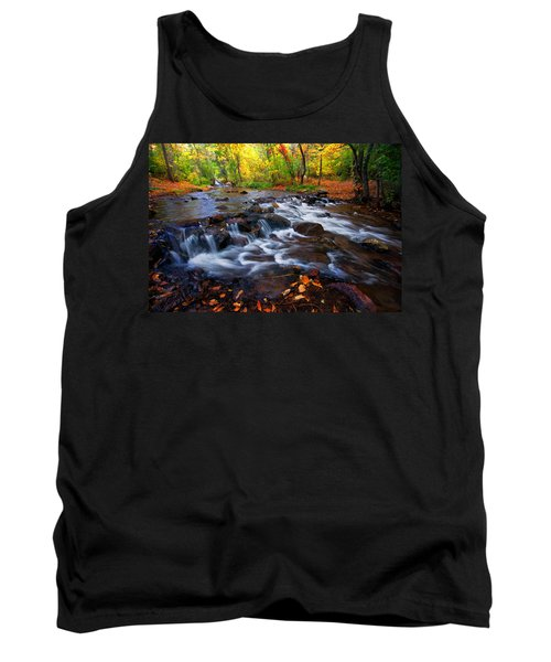 Tank Top featuring the photograph Fall On Fountain Creek by Ronda Kimbrow