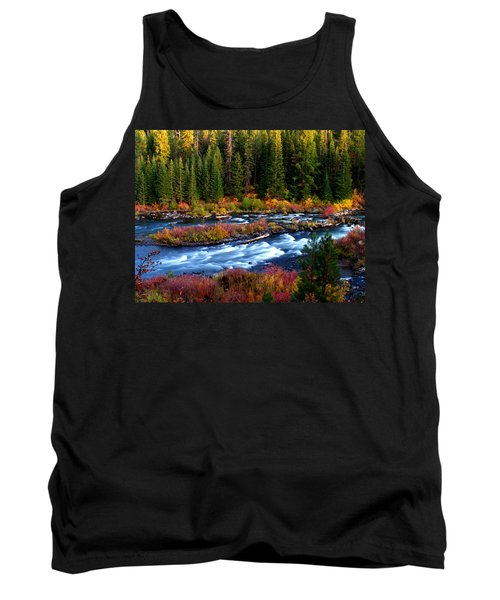 Tank Top featuring the photograph Fall On The Deschutes River by Kevin Desrosiers
