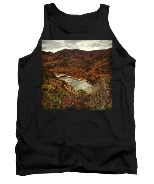Fall On The Maury Tank Top