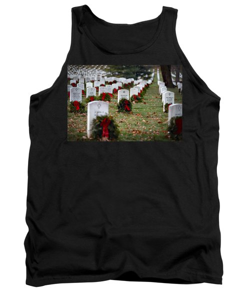 Fallen Heroes Honor And Remember Tank Top